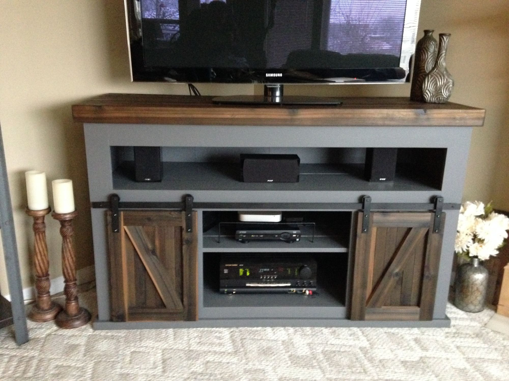 Best ideas about Tv Stand Ideas DIY . Save or Pin 19 Amazing Diy TV Stand Ideas You can Build Right Now Now.