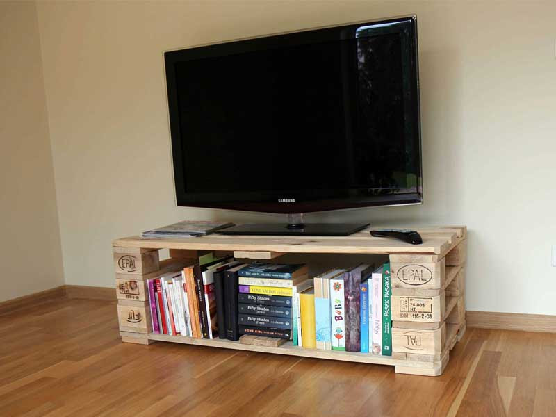 Best ideas about Tv Stand Ideas DIY . Save or Pin 21 DIY TV Stand Ideas for Your Weekend Home Project Now.