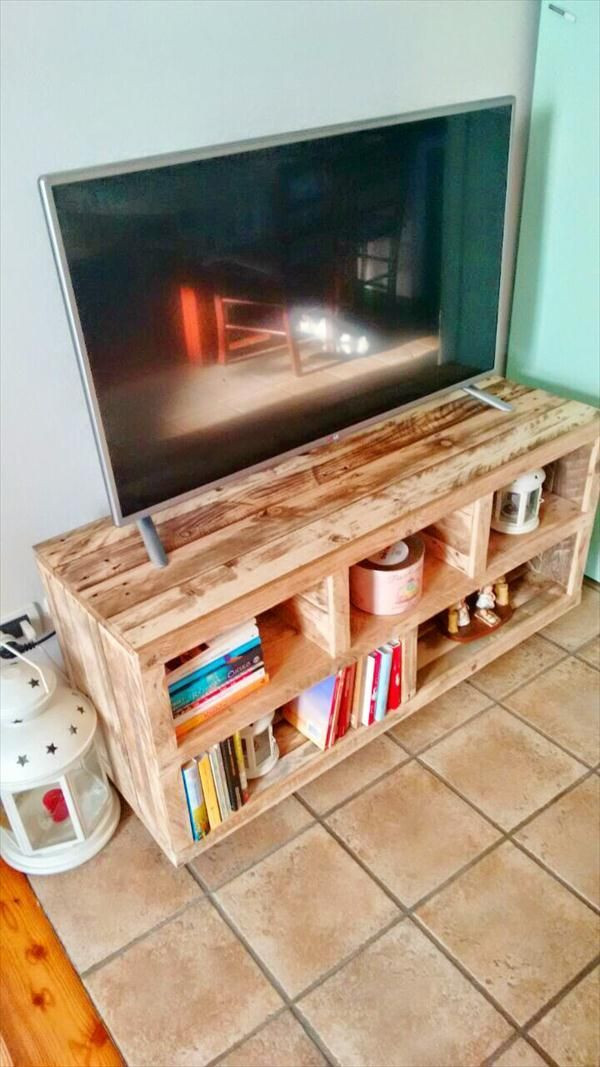 Best ideas about Tv Stand Ideas DIY . Save or Pin Best 25 Pallet tv stands ideas on Pinterest Now.