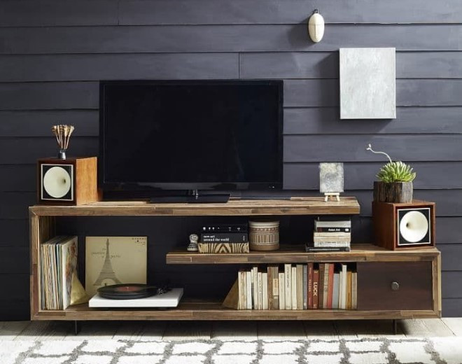 Best ideas about Tv Stand Ideas DIY . Save or Pin 35 Best DIY TV Stand Ideas For Your Room Interior Now.