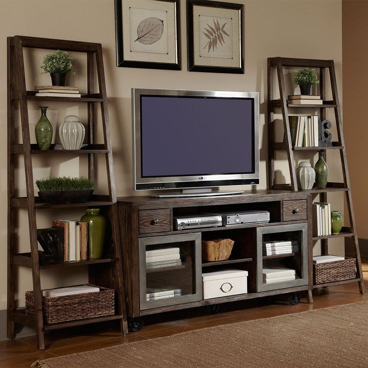 Best ideas about Tv Stand Ideas For Living Room . Save or Pin Best 25 Ladder bookcase ideas on Pinterest Now.