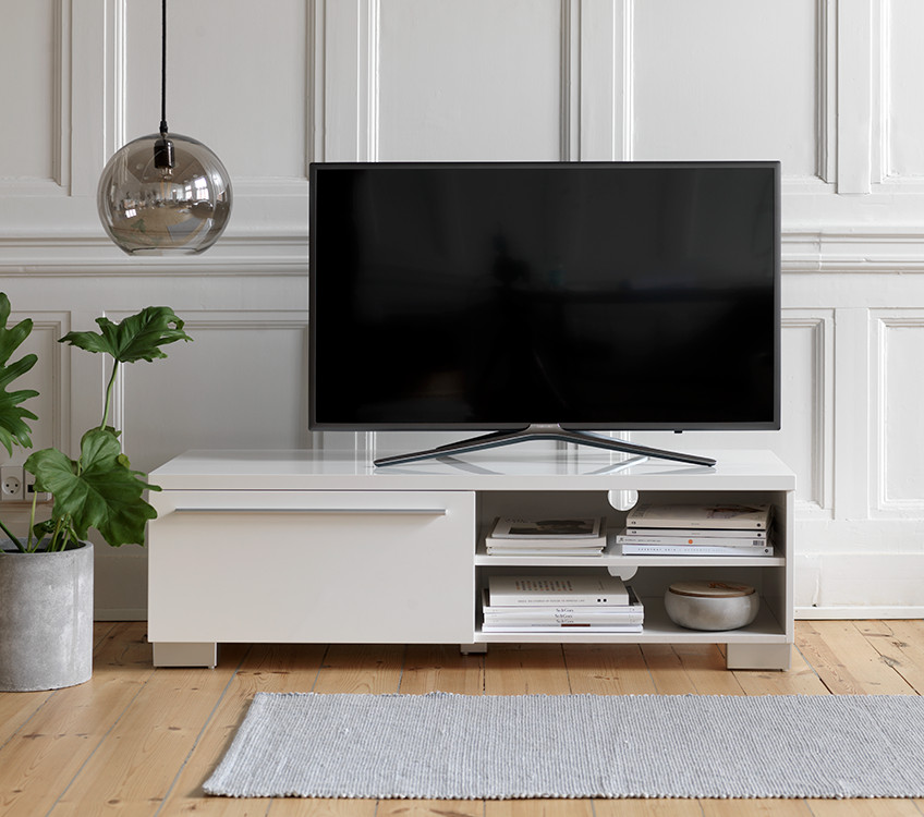 Best ideas about Tv Stand Ideas For Living Room . Save or Pin TV stand décor Integrate your TV in the living room Now.