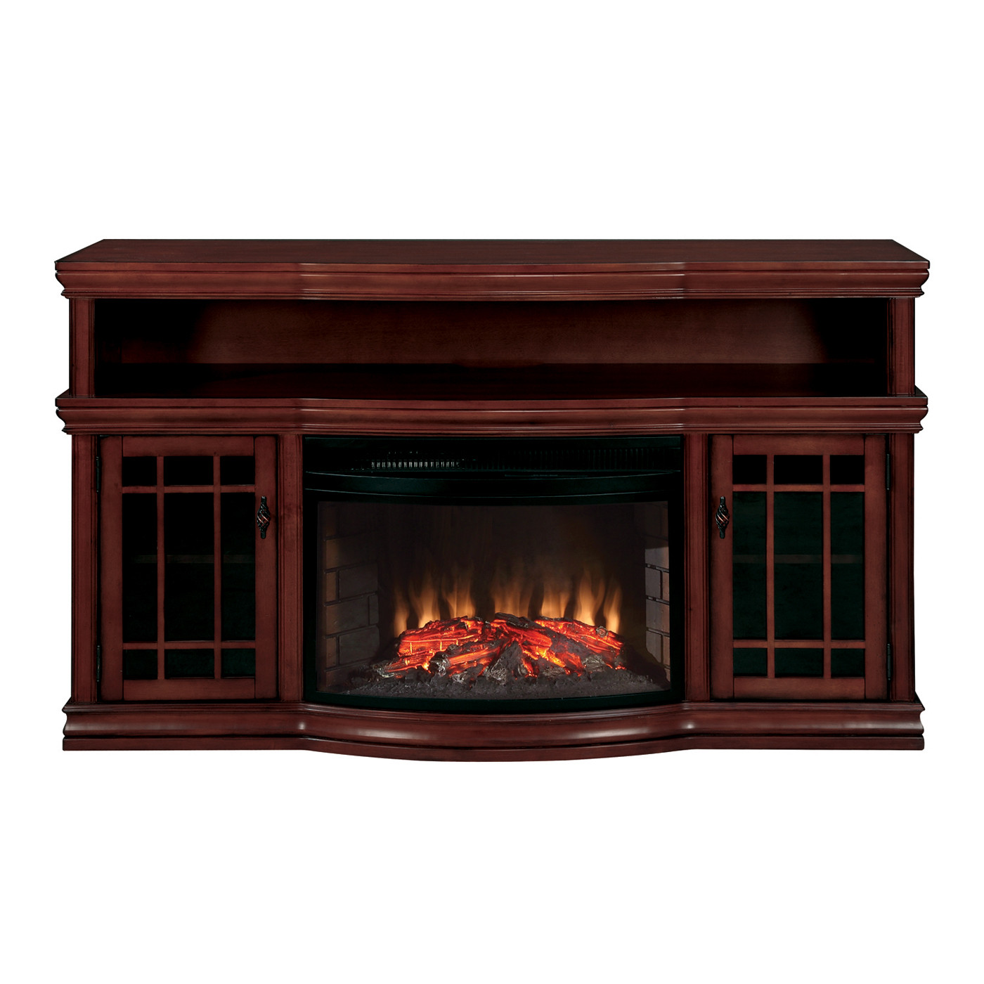 Best ideas about Tv Stand With Fireplace Lowes . Save or Pin Muskoka MTVSC2513S Dwyer Electric Fireplace Media Console Now.