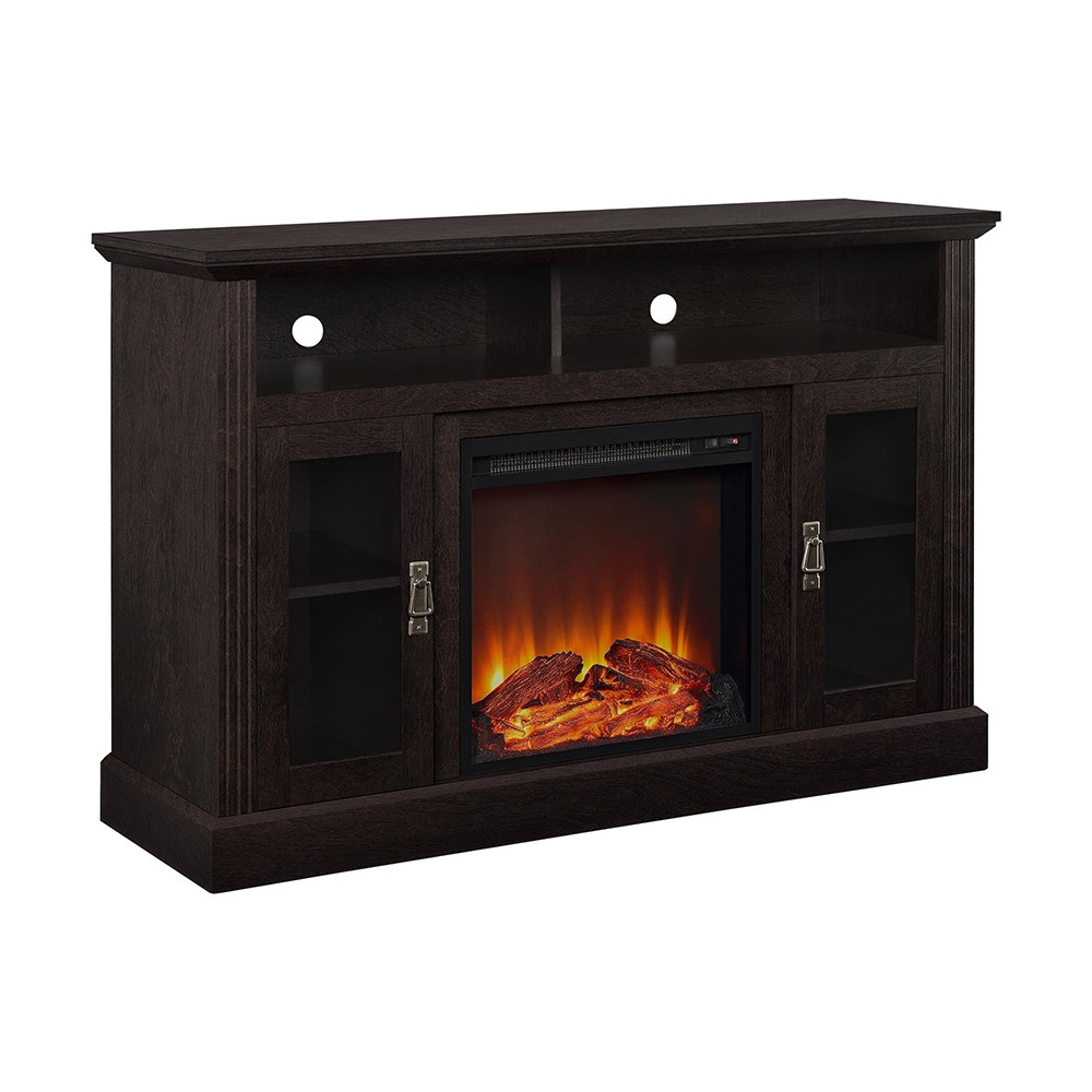 Best ideas about Tv Stand With Fireplace Lowes . Save or Pin Ameriwood Home Chicago Electric Fireplace TV Console for Now.
