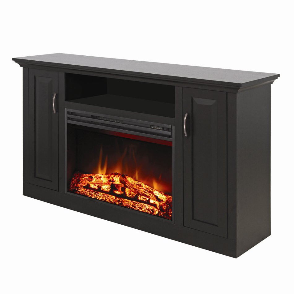 Best ideas about Tv Stand With Fireplace Lowes . Save or Pin Muskoka MTVS2564SE Clayton Electric Fireplace Media Mantel Now.