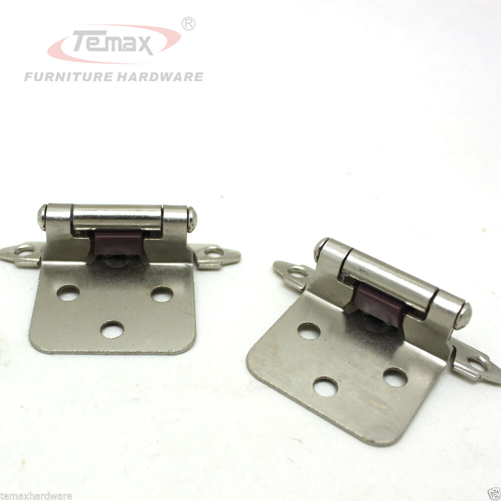 Best ideas about Types Of Cabinet Hinges . Save or Pin New 1 pair satin nickel flush type self close cabinet Now.