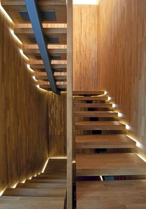 Best ideas about Types Of Staircase . Save or Pin 30 Different Wooden Types of Stairs for Modern Homes Now.