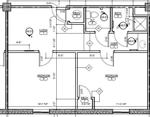 Best ideas about Typical Bedroom Size . Save or Pin Room Dimensions Now.