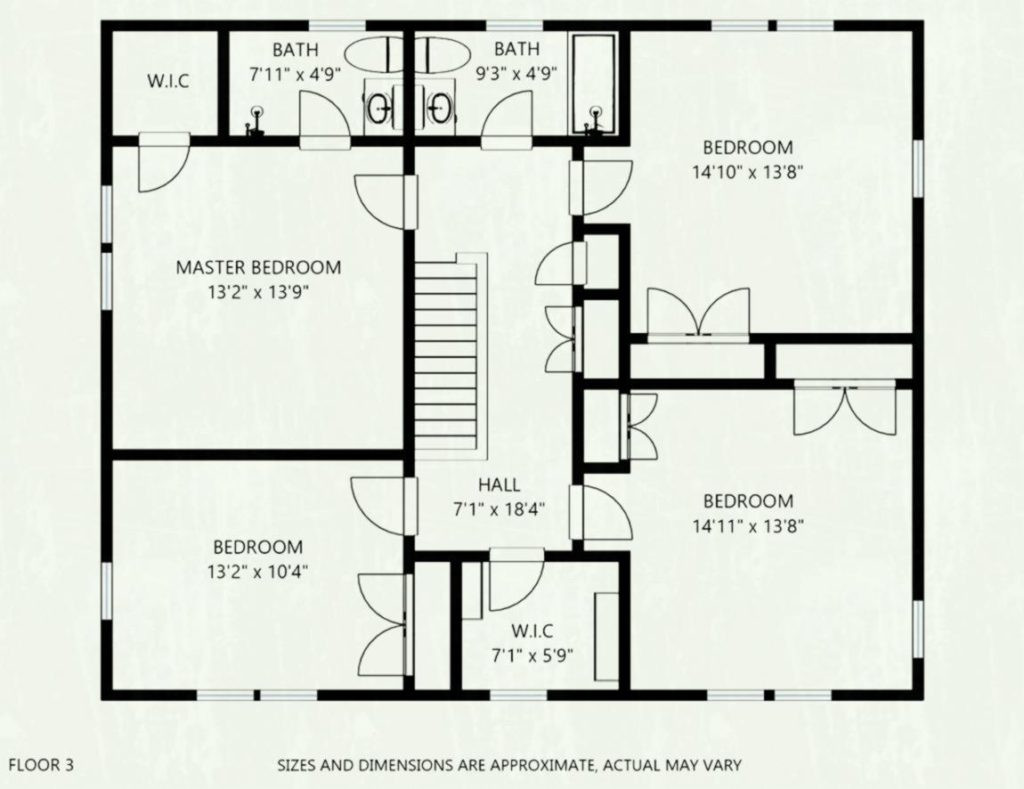 Best ideas about Typical Bedroom Size . Save or Pin Average Brick Size Best s Brick Imagefor Org Now.