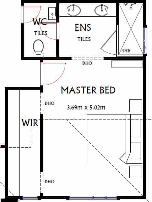 Best ideas about Typical Bedroom Size . Save or Pin Average Room Sizes An Australian Guide BuildSearch Now.