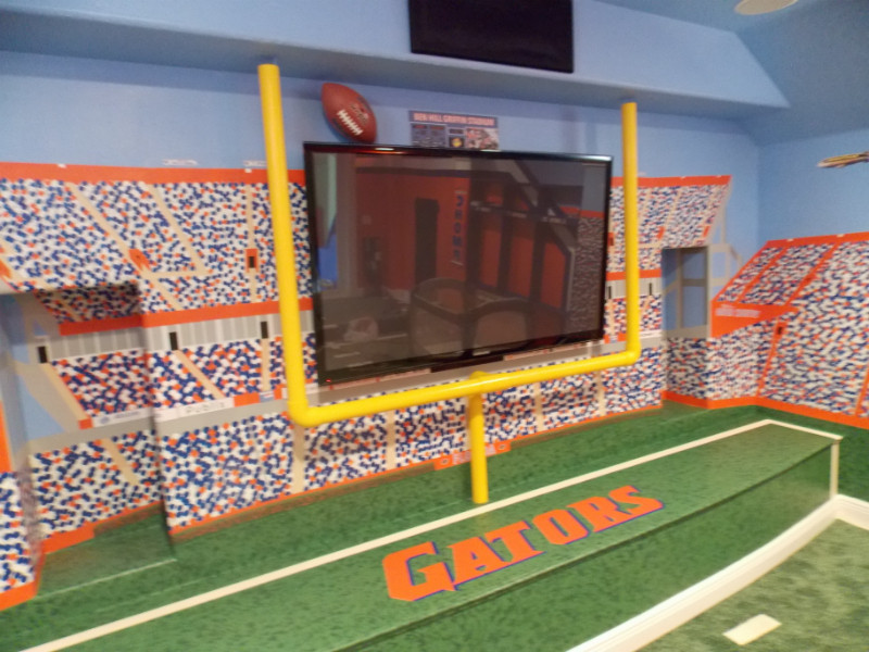 Best ideas about Uf Game Room . Save or Pin Gators Room Now.