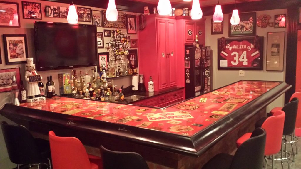 Best ideas about Uf Game Room . Save or Pin s Georgia Fan Has e The Most Amazing Man Caves Now.