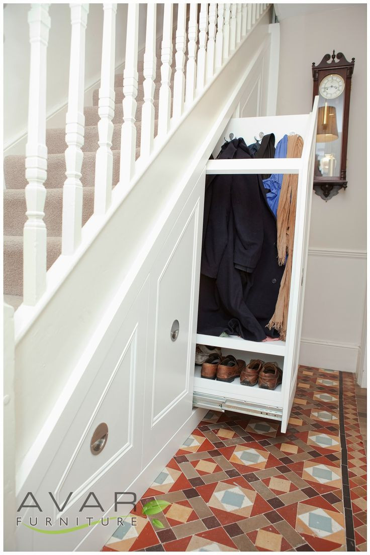 Best ideas about Under Stair Storage Ideas . Save or Pin Some Items to Store in Under Stair Storage Place Now.
