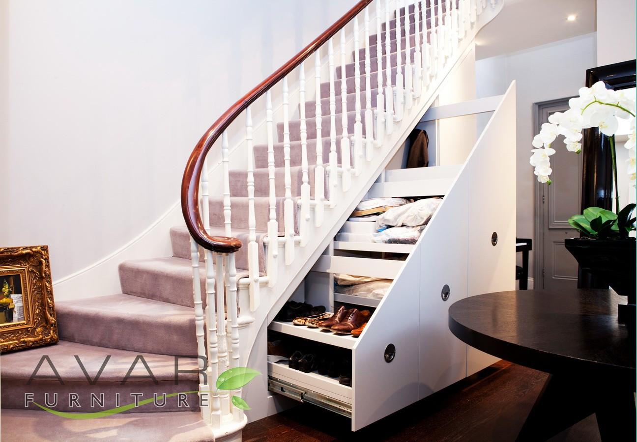 Best ideas about Under Stair Storage Ideas . Save or Pin Under stair storage ideas Now.
