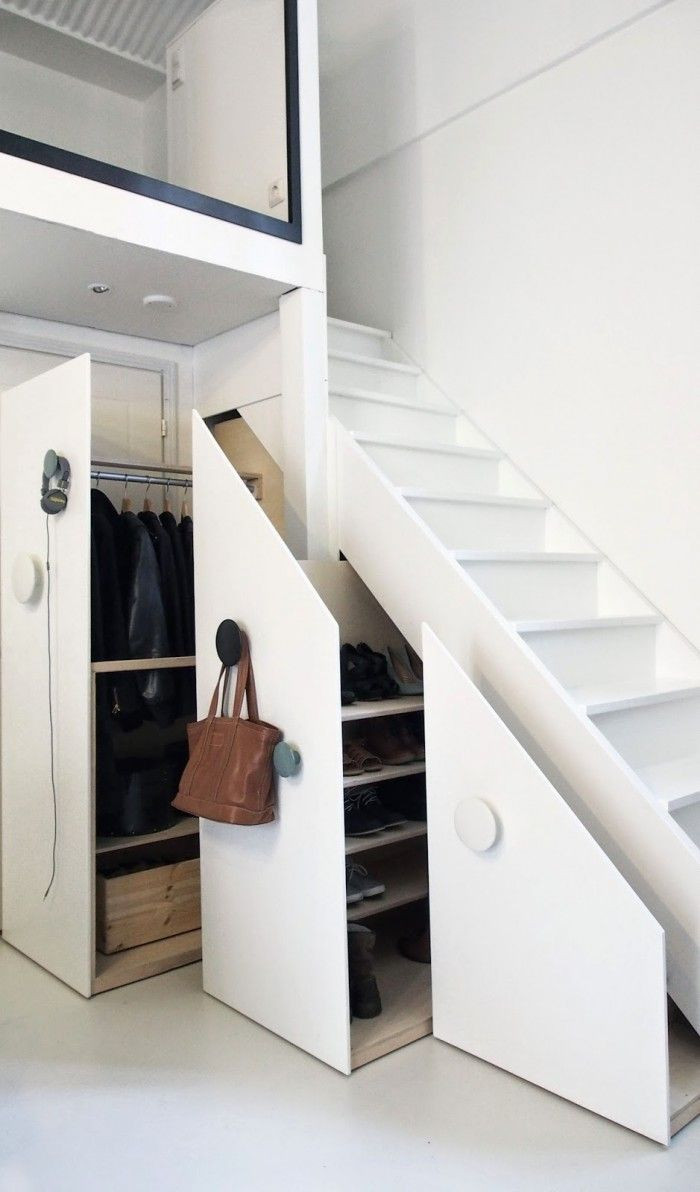 Best ideas about Under Stair Storage Ideas . Save or Pin How To Efficiently Add Storage Under The Stairs Now.