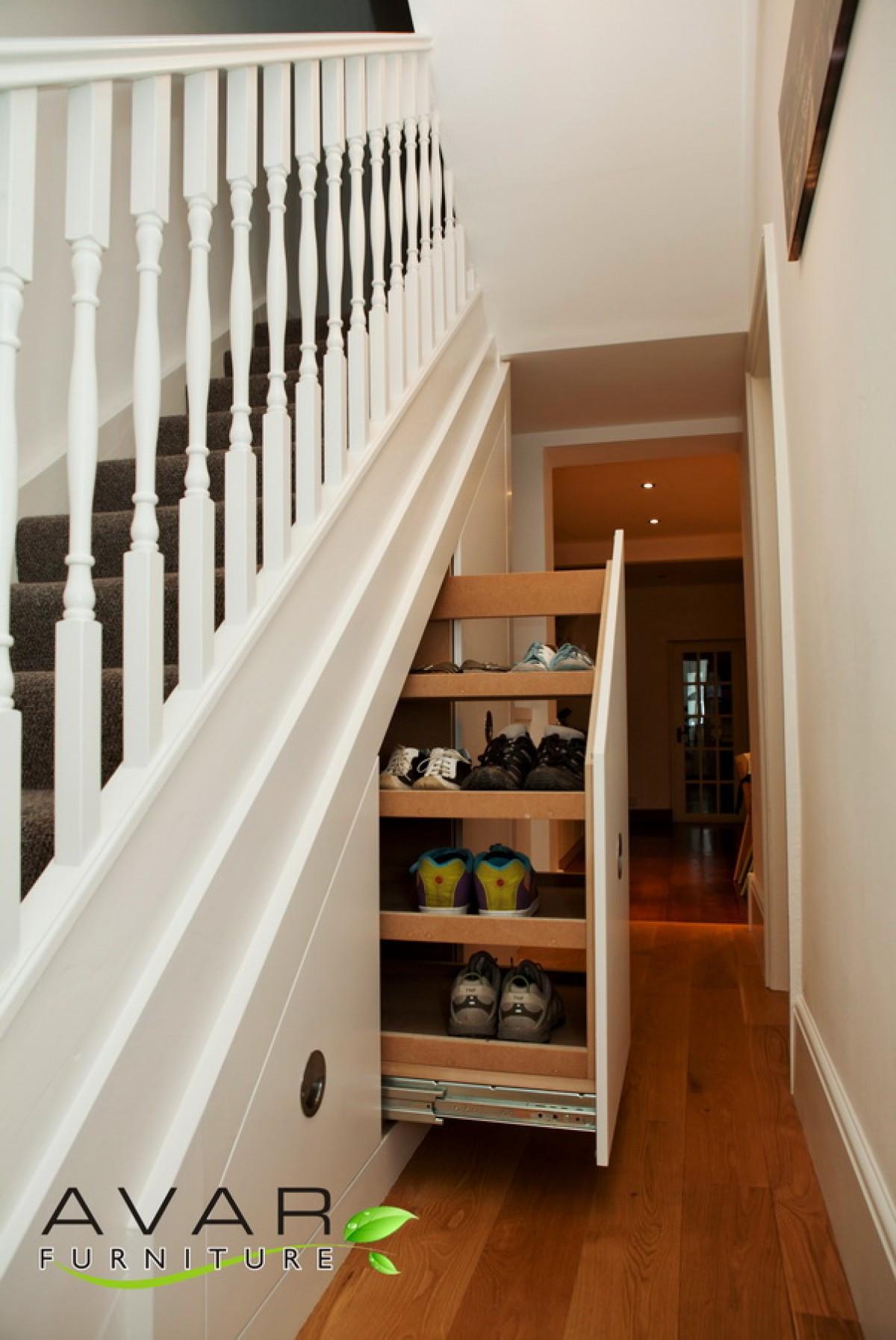 Best ideas about Under Stair Storage Ideas . Save or Pin Under The Stairs Storage Ideas Native Home Garden Design Now.
