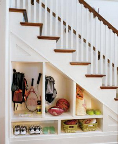 Best ideas about Under Staircase Storage Ideas . Save or Pin 50 Hallway under Stairs Storage Ideas to Try in Your Now.