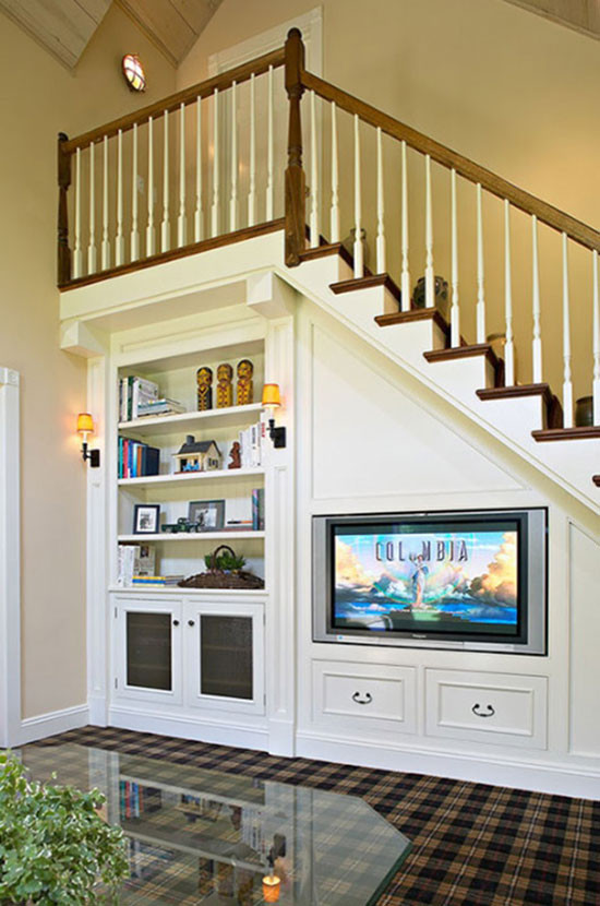 Best ideas about Under Staircase Storage Ideas . Save or Pin 37 Functional and Creative Under Stair Storage Ideas Now.