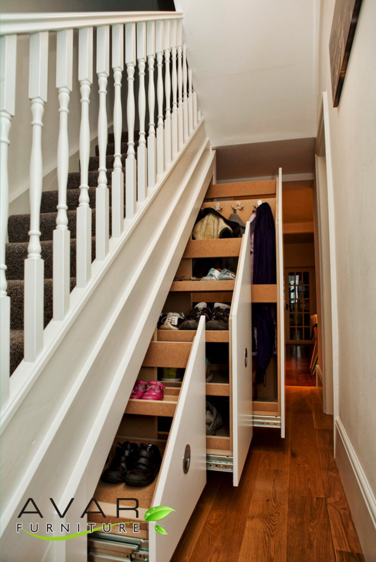Best ideas about Under Staircase Storage Ideas . Save or Pin Under The Stairs Storage Ideas Now.