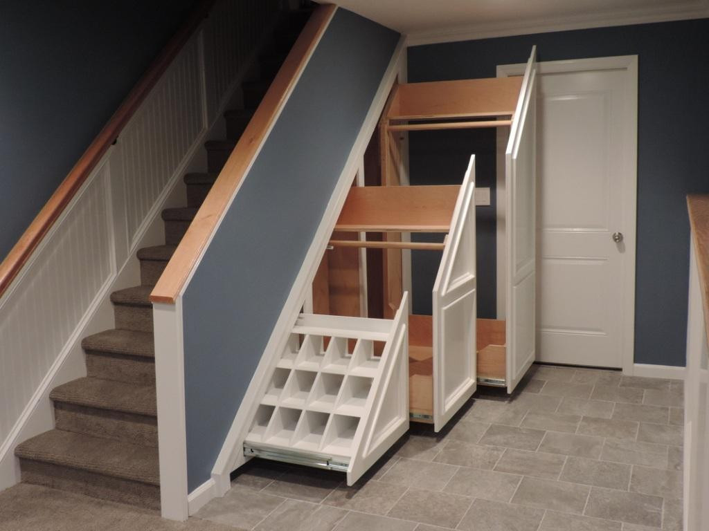 Best ideas about Under Stairs Storage . Save or Pin Some Items to Store in Under Stair Storage Place Now.