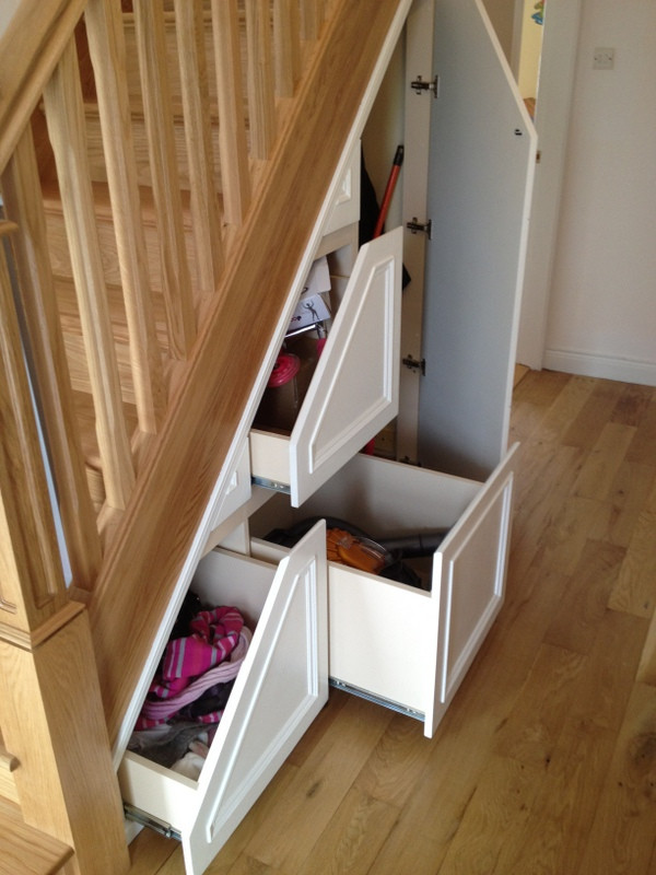 Best ideas about Under Stairs Storage . Save or Pin 3 Under Stairs Storage ideas for your home Now.