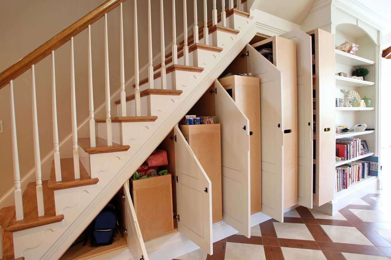 Best ideas about Under Stairs Storage . Save or Pin 8 Clever Ways to Utilize That Awkward Space Under Your Stairs Now.