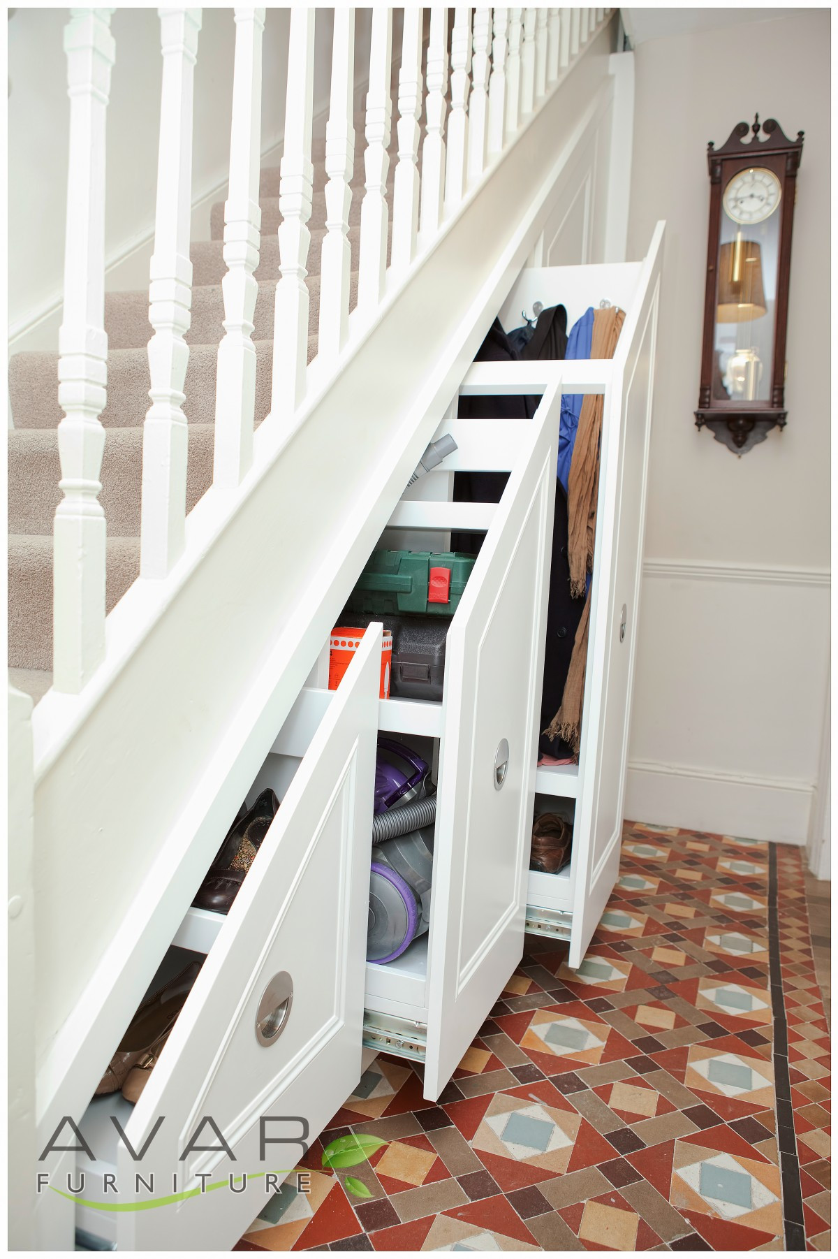 Best ideas about Under The Stairs Storage . Save or Pin Under The Stairs Storage Ideas Home Decorating Ideas Now.