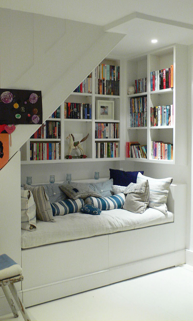 Best ideas about Under The Stairs Storage . Save or Pin Staircase Ideas Innovative Uses and Storage For Under A Now.
