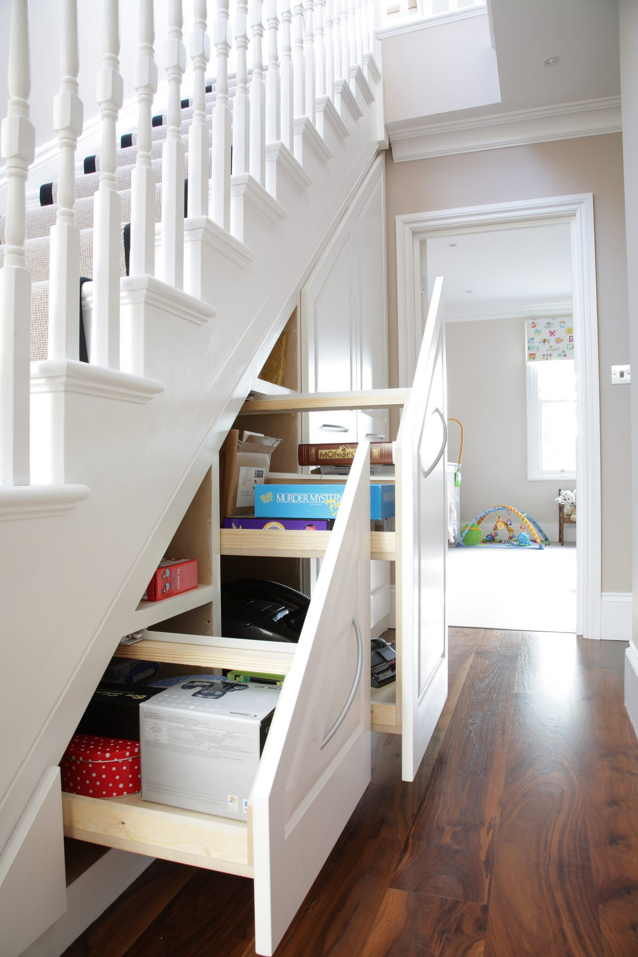 Best ideas about Under The Stairs Storage . Save or Pin Traditional under stairs storage unit JOAT London Now.