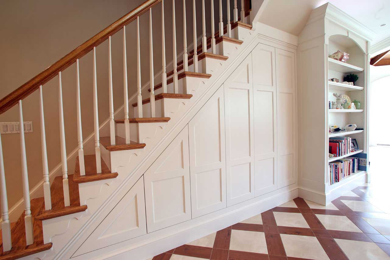 Best ideas about Under The Stairs Storage . Save or Pin 8 Clever Ways to Utilize That Awkward Space Under Your Stairs Now.