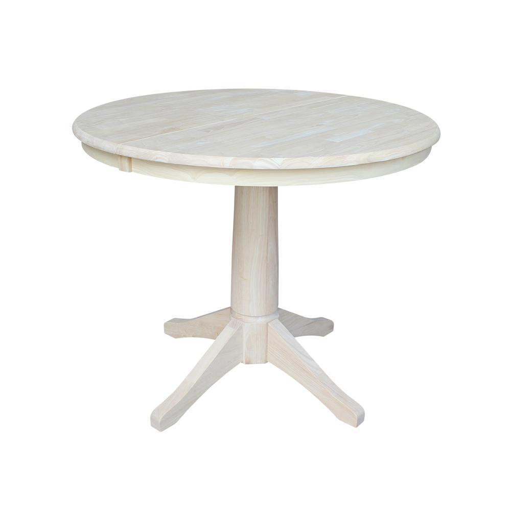 Best ideas about Unfinished Dining Table . Save or Pin International Concepts Unfinished Pedestal Dining Table K Now.