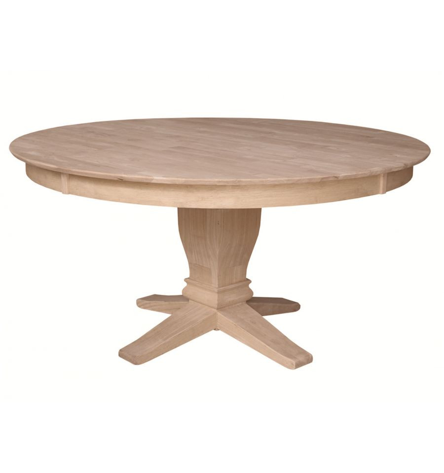 Best ideas about Unfinished Dining Table . Save or Pin [60 Inch] Solid Dining Table Wood You Furniture Now.