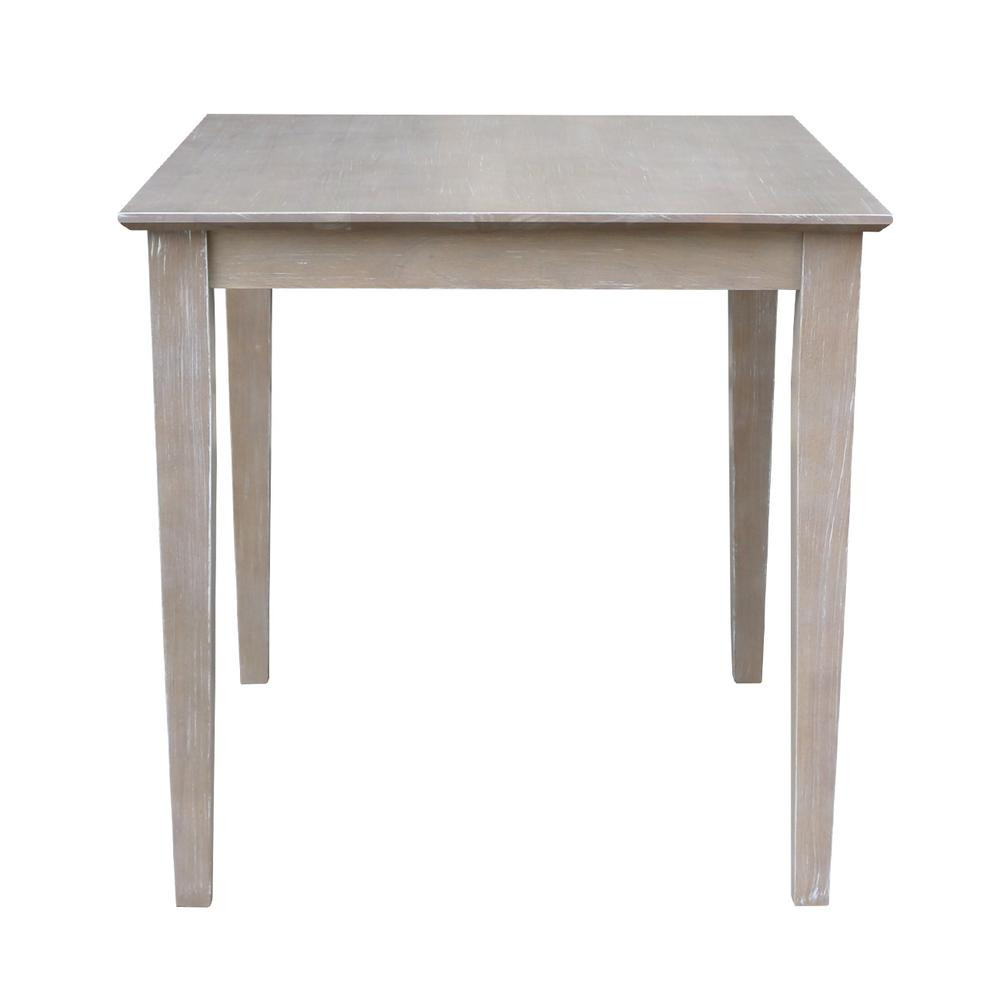 Best ideas about Unfinished Dining Table . Save or Pin International Concepts Unfinished Shaker Leg Dining Table Now.
