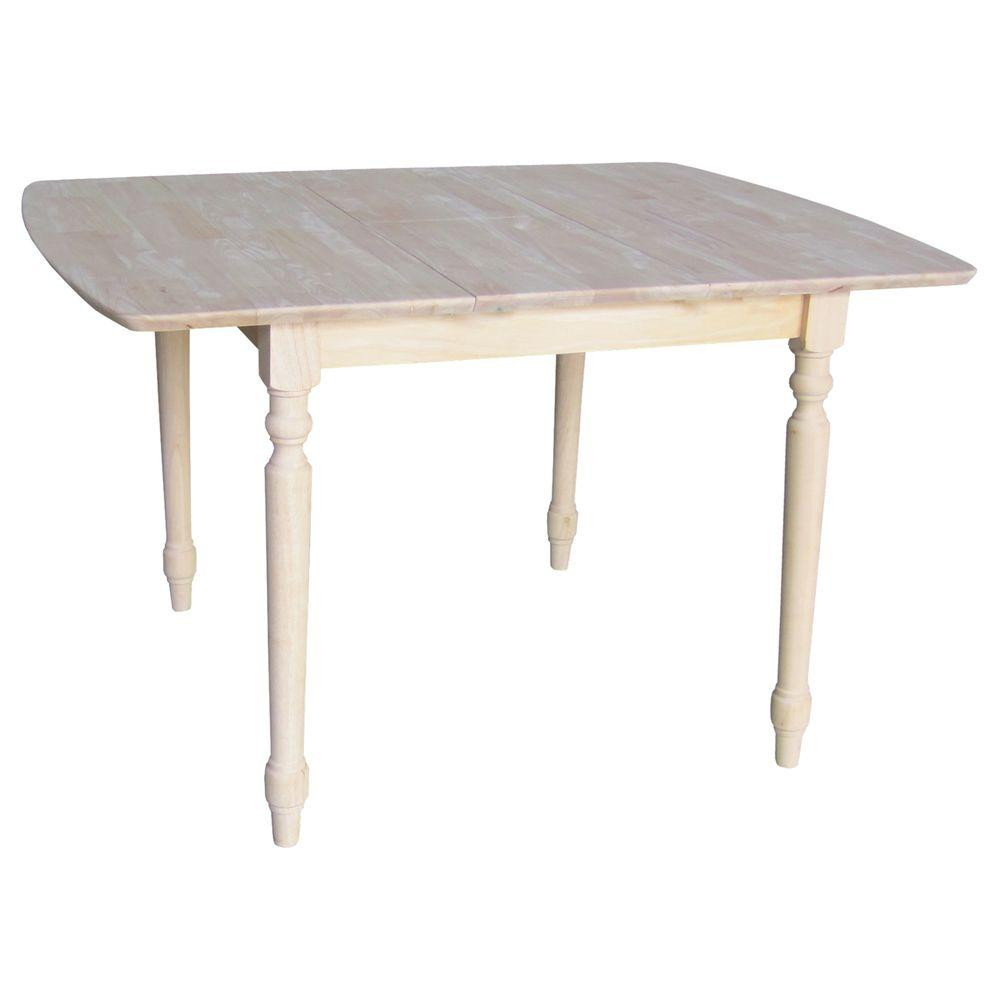 Best ideas about Unfinished Dining Table . Save or Pin International Concepts Unfinished Turned Leg Dining Table Now.