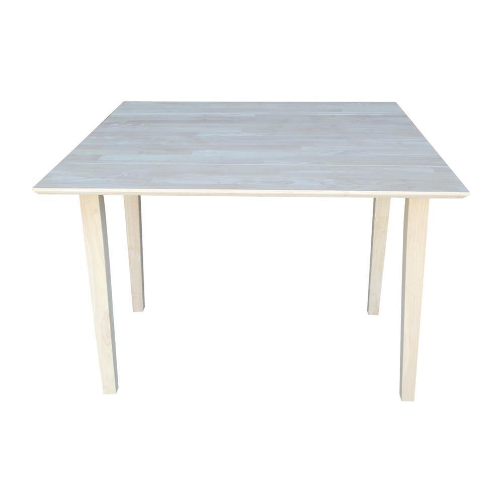 Best ideas about Unfinished Dining Table . Save or Pin Square Hardwood Drop Leaf Shaker Table Free Shipping T Now.
