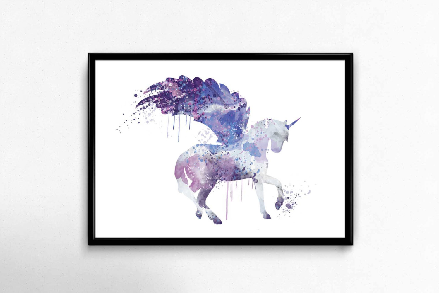 Best ideas about Unicorn Wall Art . Save or Pin SALE Unicorn Watercolour Art PrintUnicorn Wall ArtUnicorn Now.