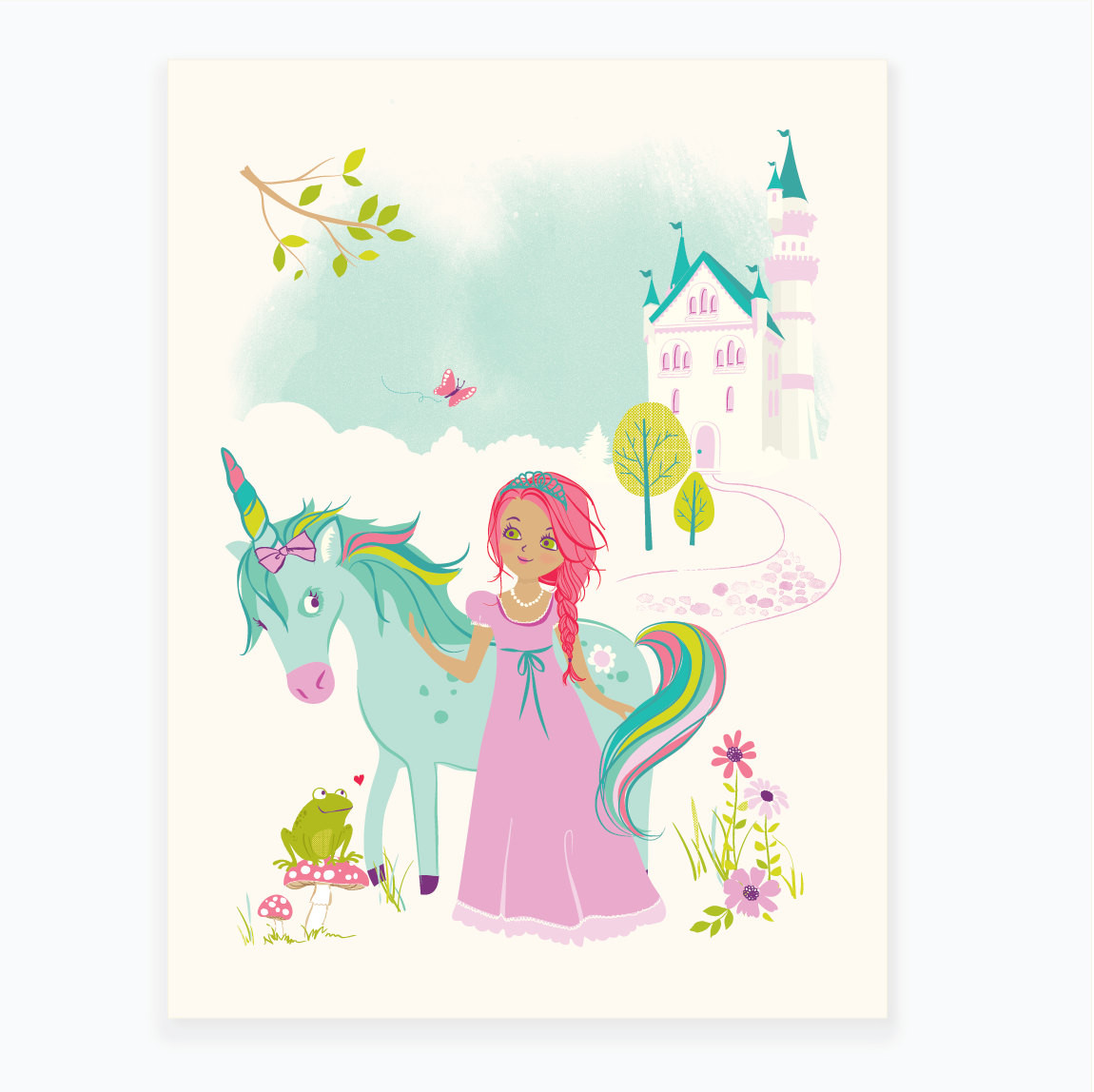 Best ideas about Unicorn Wall Art . Save or Pin Princess wall art Unicorn wall art art for girls room Now.