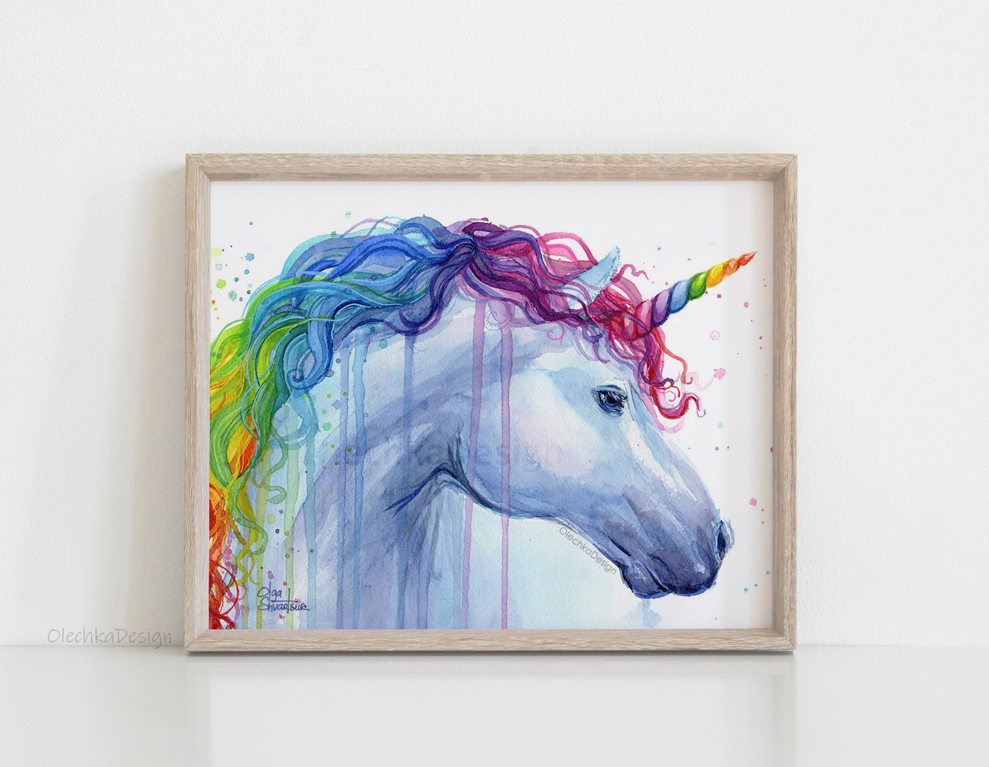 Best ideas about Unicorn Wall Art . Save or Pin Rainbow Unicorn Unicorn Wall Art Unicorn Art Print Unicorn Now.