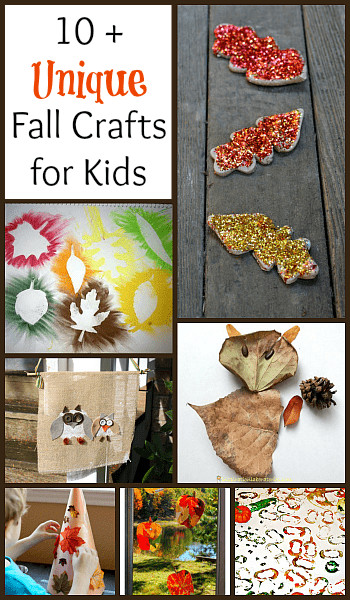Best ideas about Unique Crafts For Kids . Save or Pin 10 Unique Fall Crafts for Kids to Make Buggy and Buddy Now.