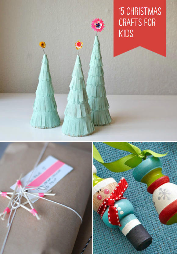 Best ideas about Unique Crafts For Kids . Save or Pin 15 Simple Christmas Crafts for Kids Now.