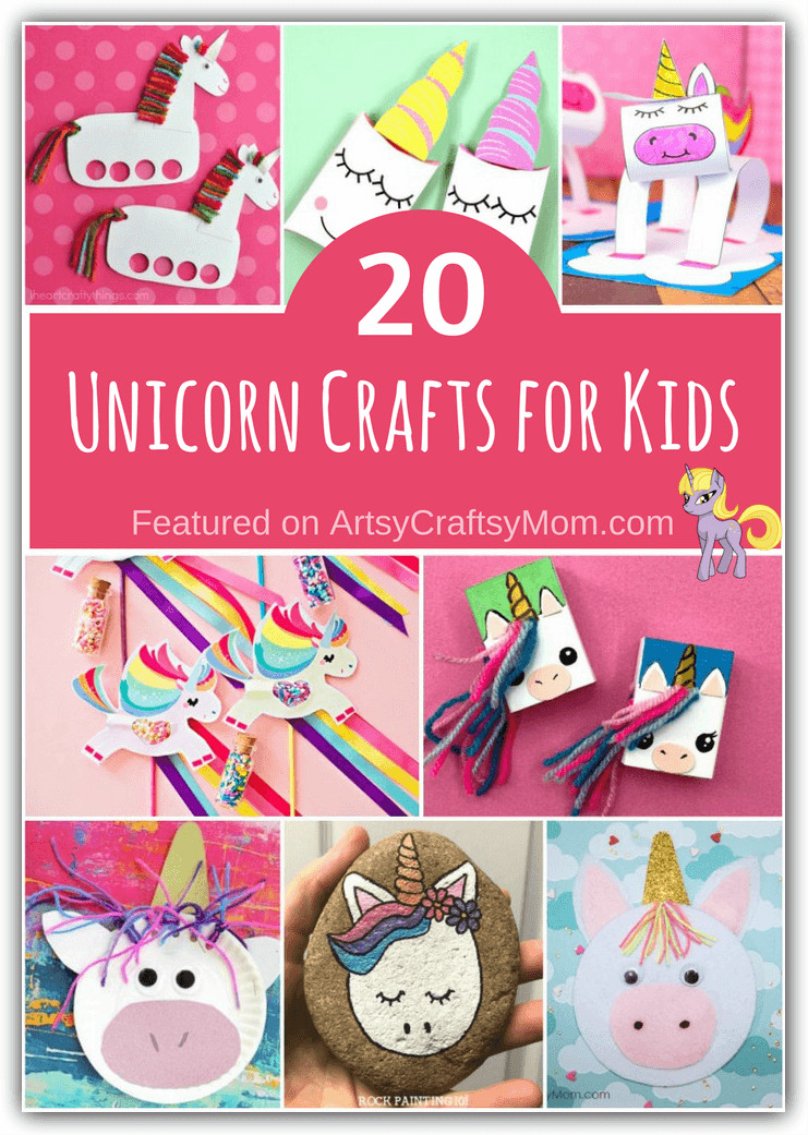 Best ideas about Unique Crafts For Kids . Save or Pin 20 Unique Unicorn Crafts for Kids Now.