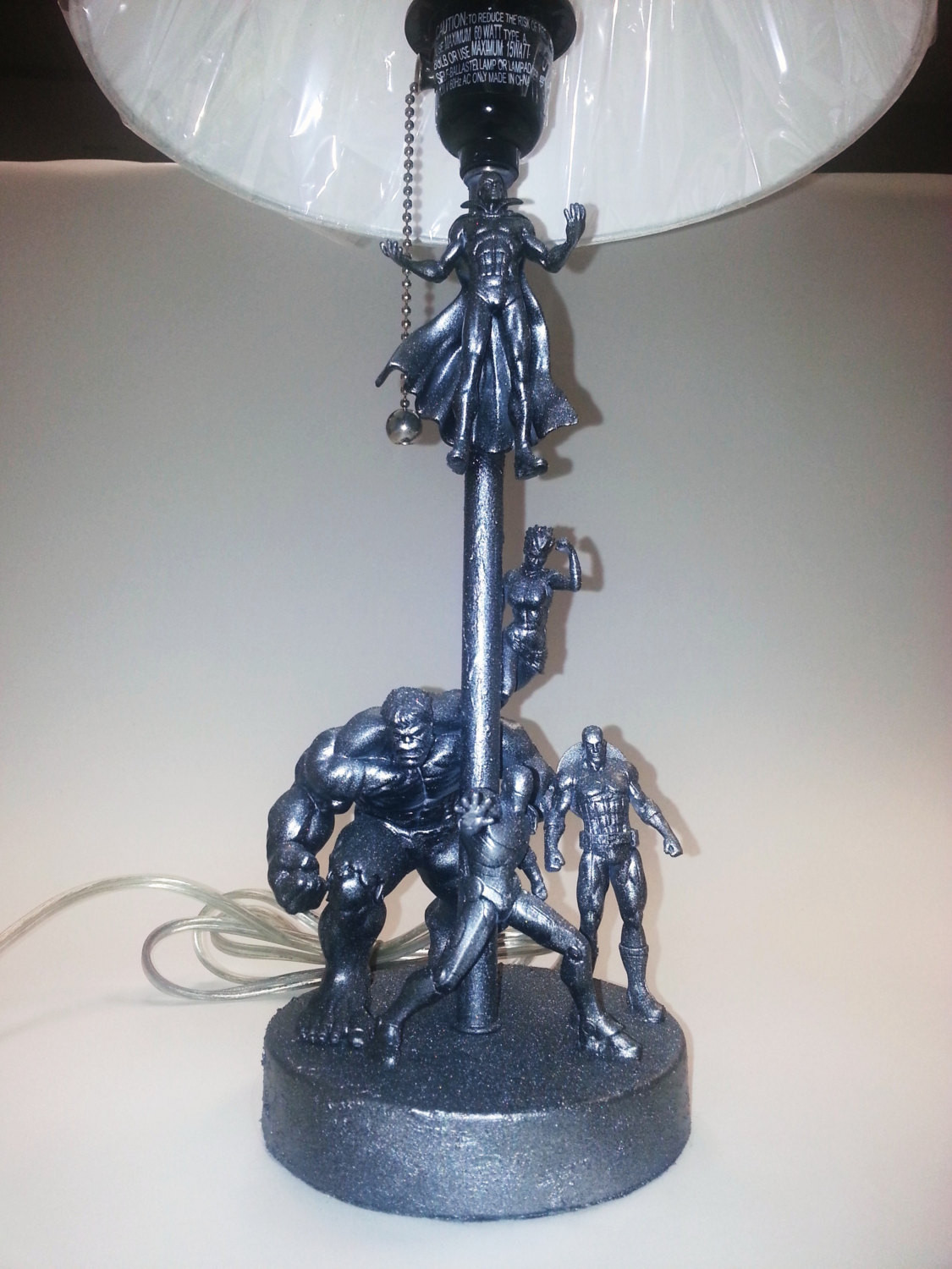 Best ideas about Unique Desk Lamp . Save or Pin Toy Lamp Marvel Avengers Lamp Desk Lamp Unique Table Now.