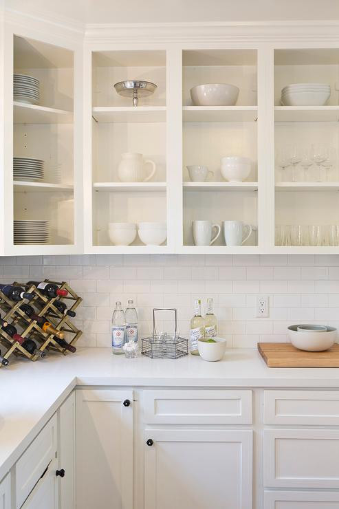 Best ideas about Upper Kitchen Cabinets . Save or Pin White Upper Cabinets Design Ideas Now.