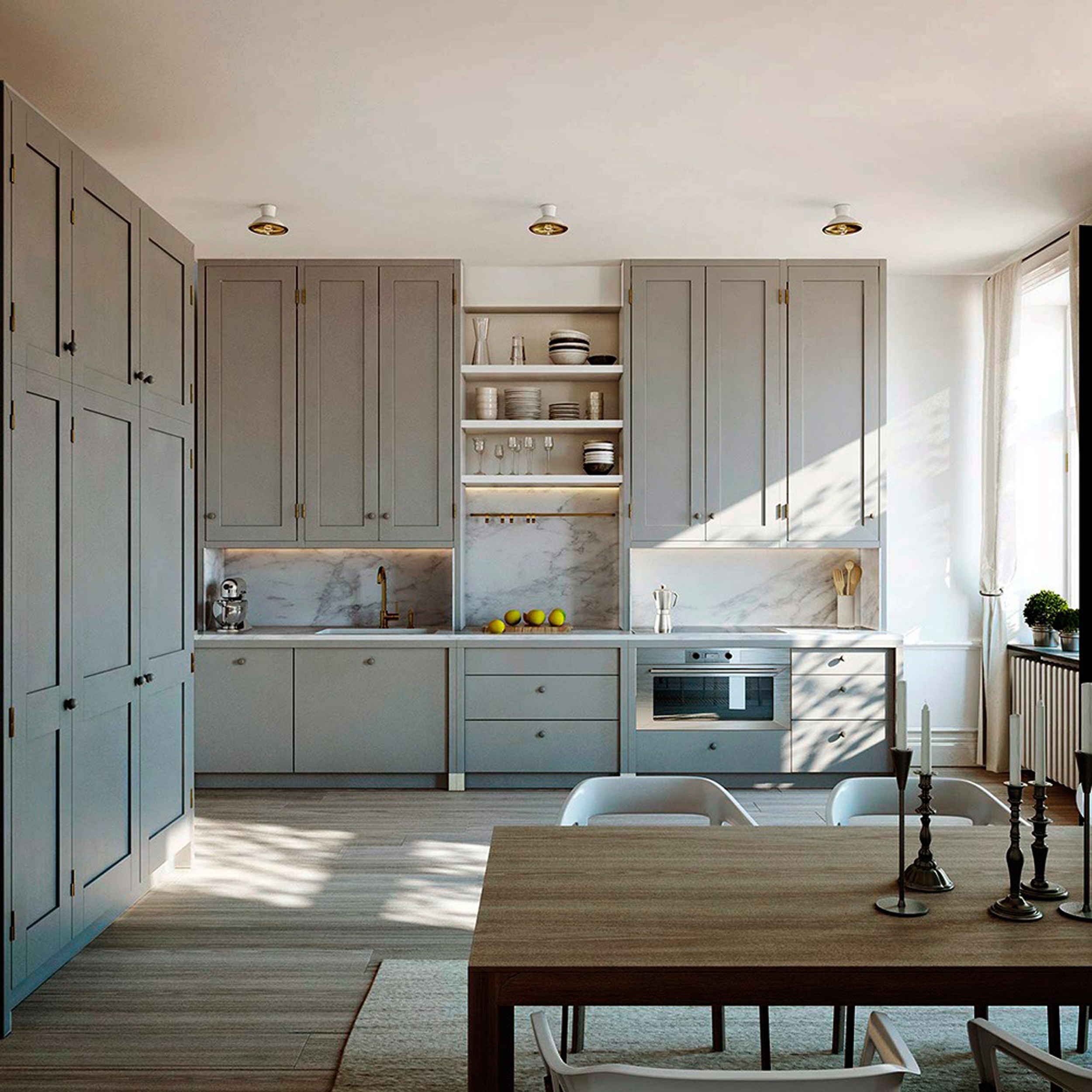 Best ideas about Upper Kitchen Cabinets . Save or Pin How We re Designing Our Kitchen Thoughts Cabinet Now.
