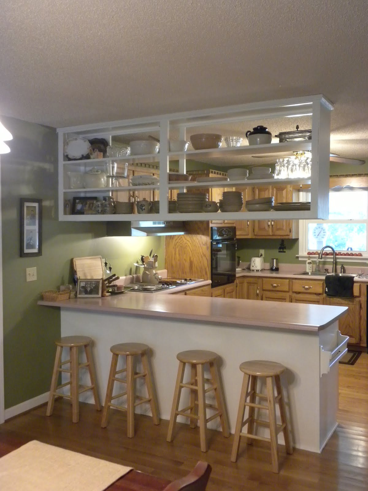 Best ideas about Upper Kitchen Cabinets . Save or Pin A Meek Perspective Before & After Upper Kitchen Cabinet Now.