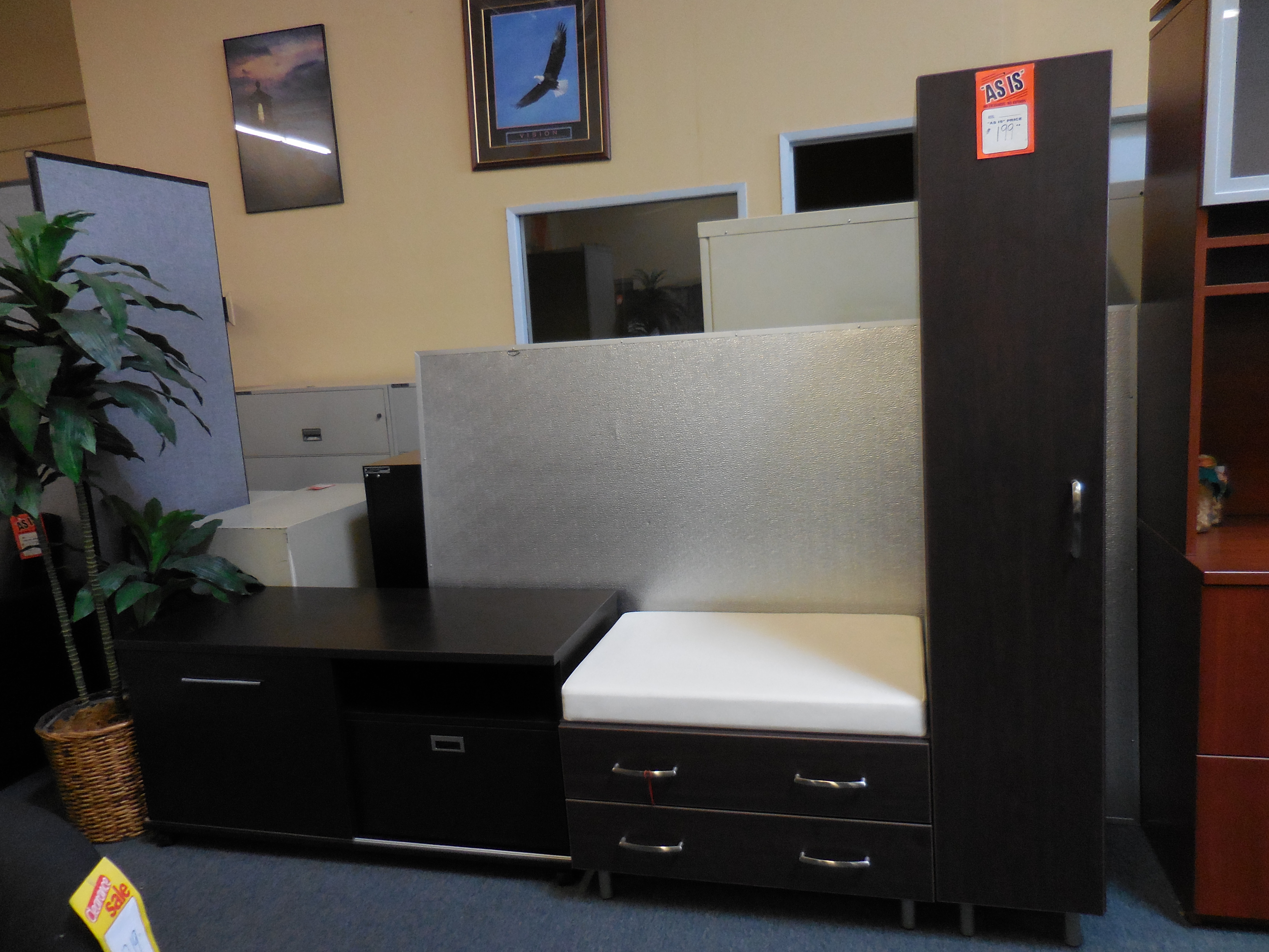 Best ideas about Used Office Furniture San Diego . Save or Pin Used Storage tower with bench $99 – Used fice Furniture Now.