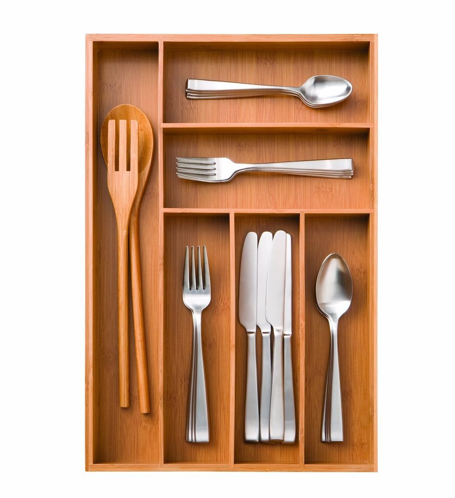 Best ideas about Utensil Drawer Organizer DIY . Save or Pin New Seville Classics Bamboo Utensil Kitchen Drawer Now.