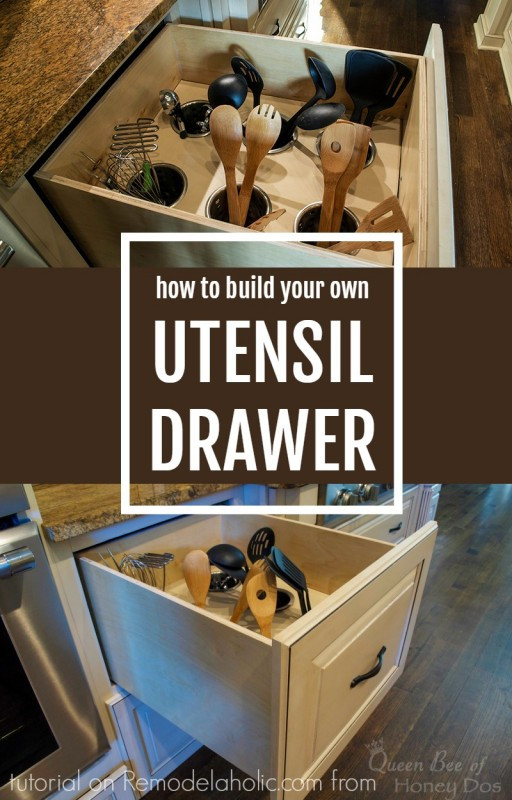 Best ideas about Utensil Drawer Organizer DIY . Save or Pin 70 Practical Kitchen Drawer Organization Ideas Shelterness Now.