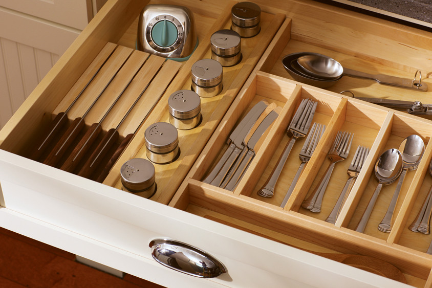Best ideas about Utensil Drawer Organizer DIY . Save or Pin Silverware Trays Divided Drawers Now.