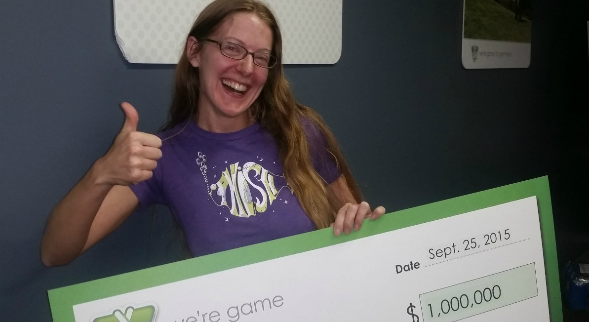 Best ideas about Va Lottery Game Room . Save or Pin Mom bouncing around the room with joy after winning $1 Now.